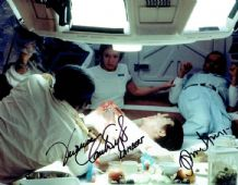 Alien Autograph Signed Photo - Hurt & Cartwright